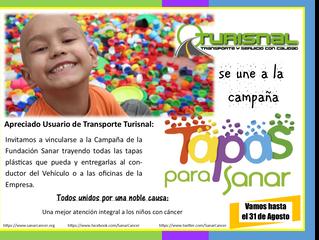 Campaña Tapas para Sanar