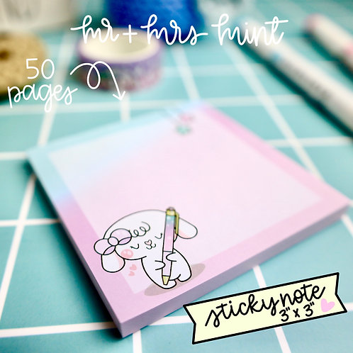 50 pgs | Bonnie Pen Lover Sticky Note