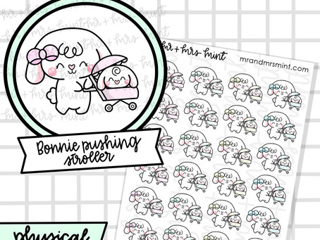Planner Stickers Release Tomorrow! | Mr + Mrs Mint Planner Boutique