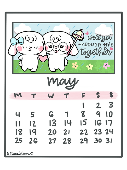 May 2020 Calendar | Printable
