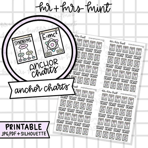 Anchor Charts | Printable