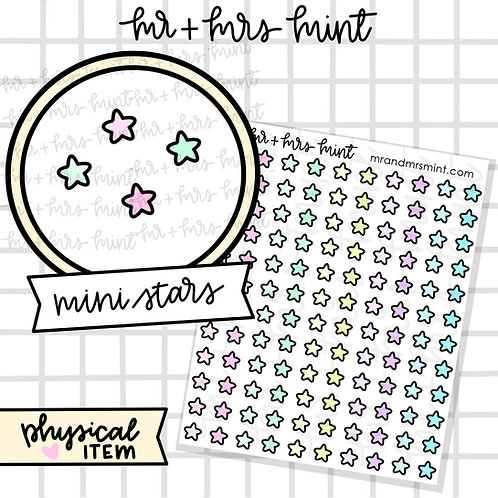 Mini Stars - Pastels