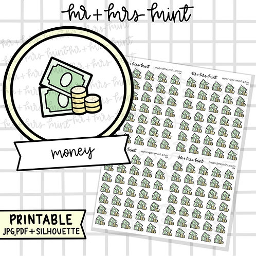 Money | Printable