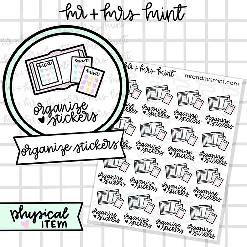 Organize Stickers
