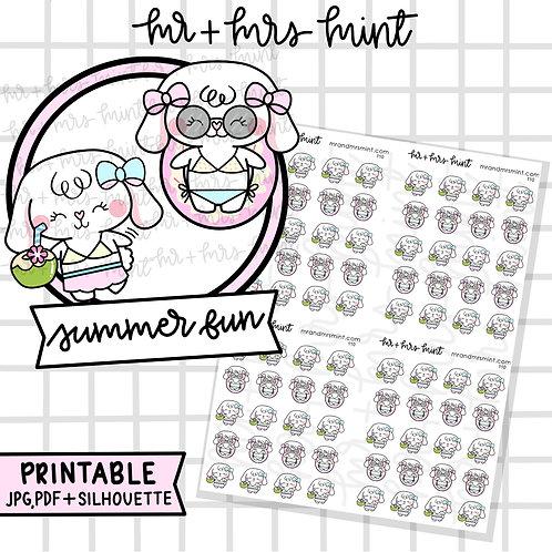 Bonnie Summer Fun | Printable