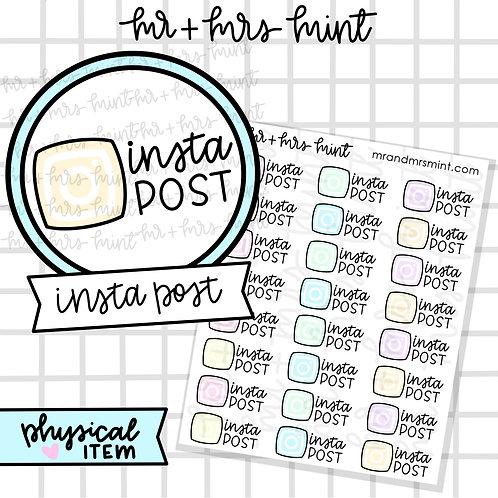 Insta Post