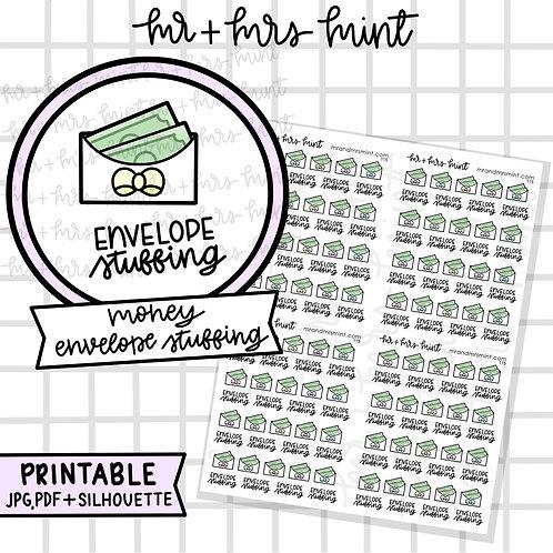 Money Envelope Stuffing | Printable