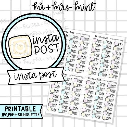 Insta Post | Printable