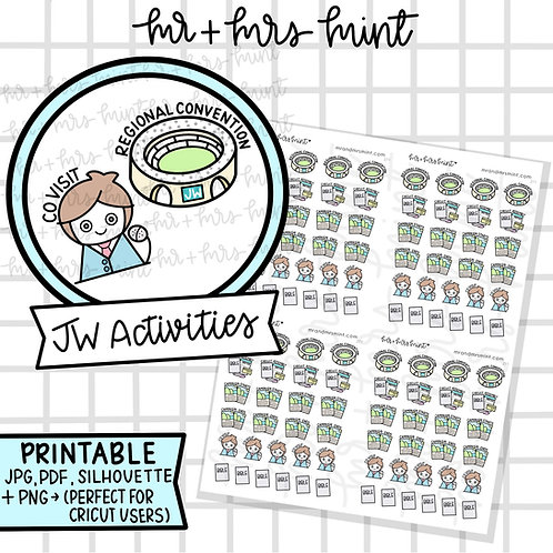 JW Activities | Printable