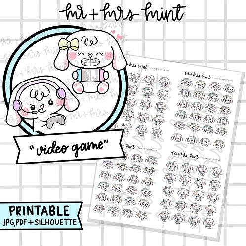 Bonnie Video Game | Printable