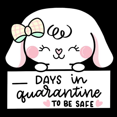 Bonnie Quarantine Days | Printable