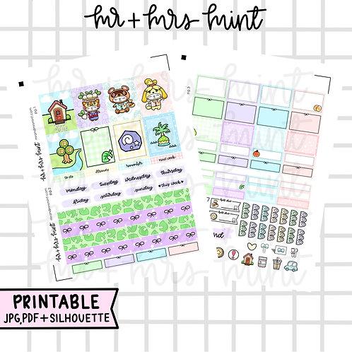 Animal Crossing Mini-Kit | Printable