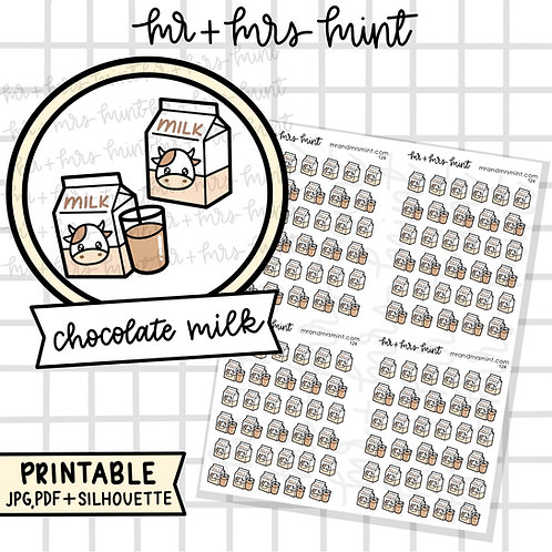 Chocolate Milk | Printable