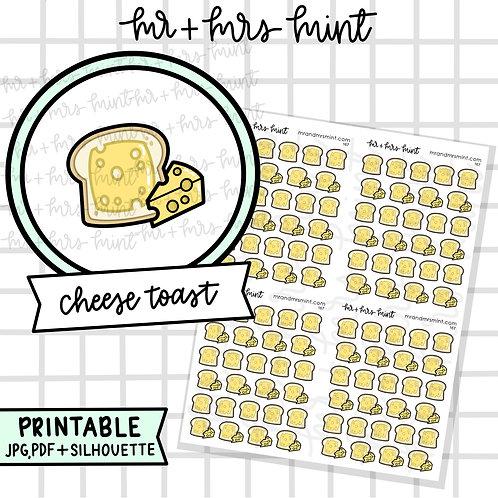 Cheese Toast | Printable