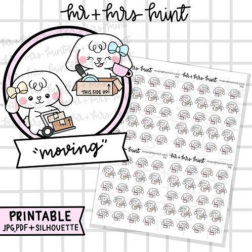 Bonnie Moving | Printable