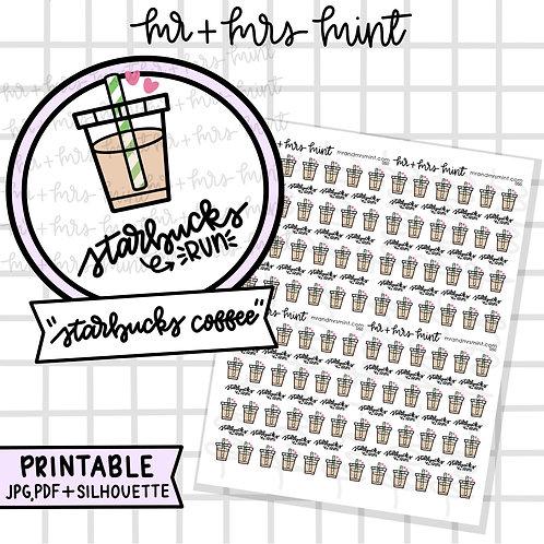 Starbucks Coffee   Printable