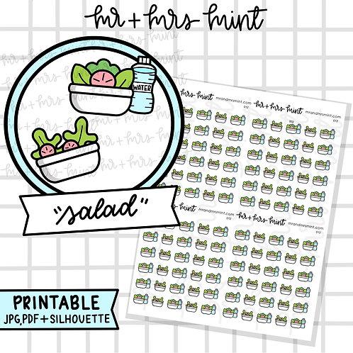 Salad | Printable