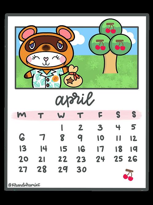 April 2020 Calendar | Printable
