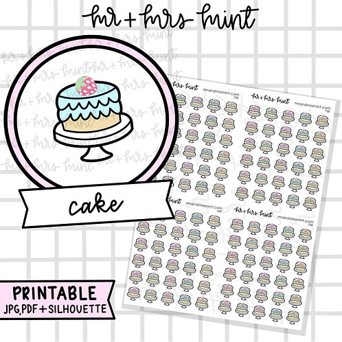 Cake | Printable