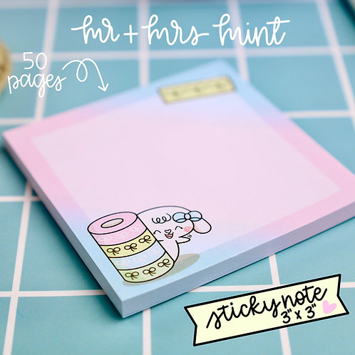 50 pgs | Bonnie Washi Lover Sticky Note
