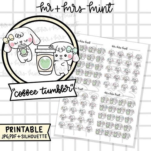 Bonnie Coffee Tumbler | Printable