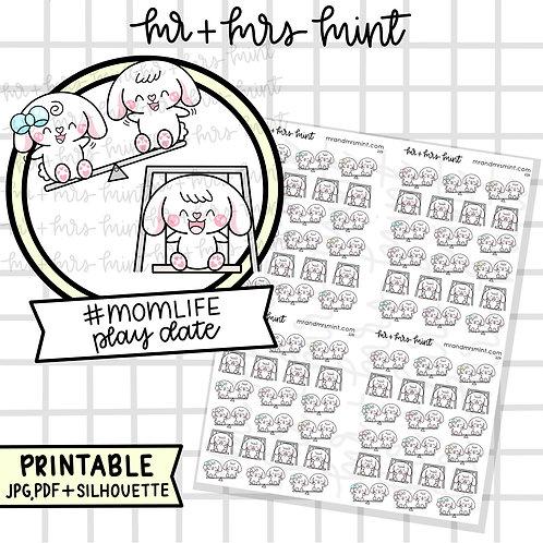 Bonnie Mom Life - Play Date | Printable