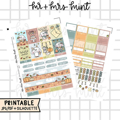 Hello Fall Mini-Kit | Printable