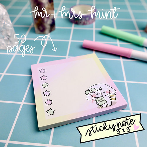50 pgs | Bonnie Planner Babe Sticky Note