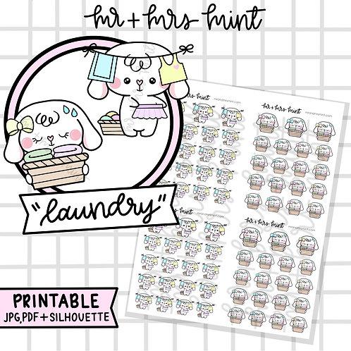 Bonnie Laundry | Printable