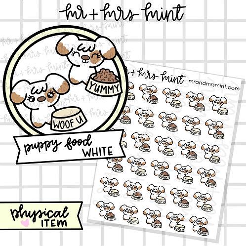 Puppy Food White