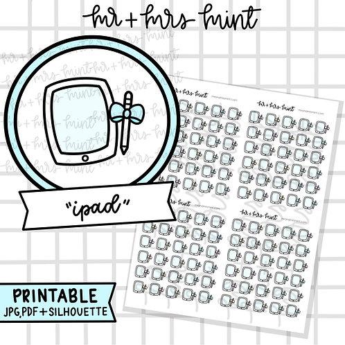 iPad | Printable