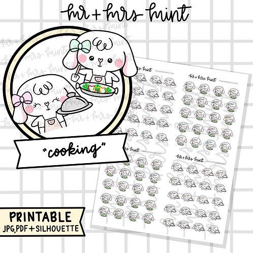 Bonnie Cooking | Printable