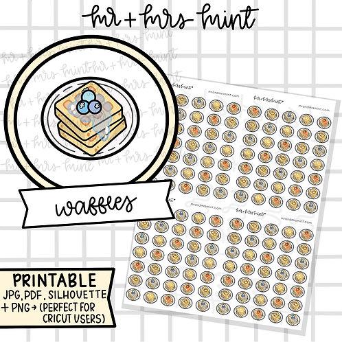 Waffles | Printable