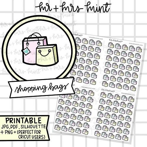 Shopping Bags | Printable