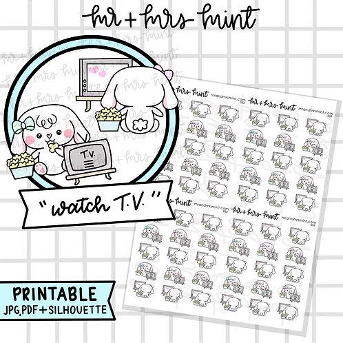Bonnie Watch TV | Printable