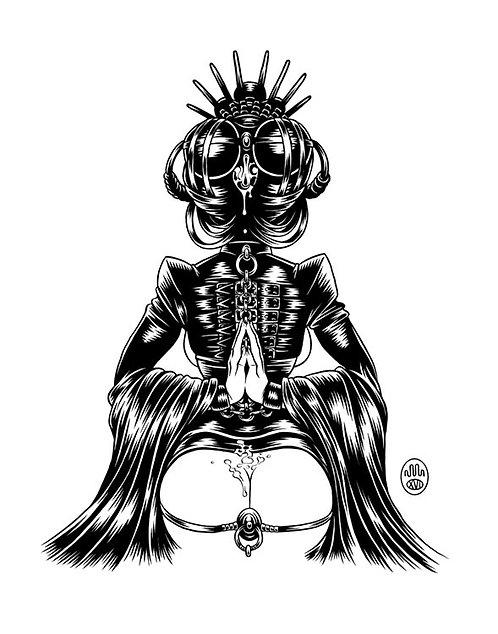 CONCUBINE: HEADDRESS 02 Original Artwork