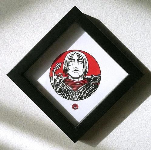 NIBELUNGEN ICON: SIEGFRIED Framed Print