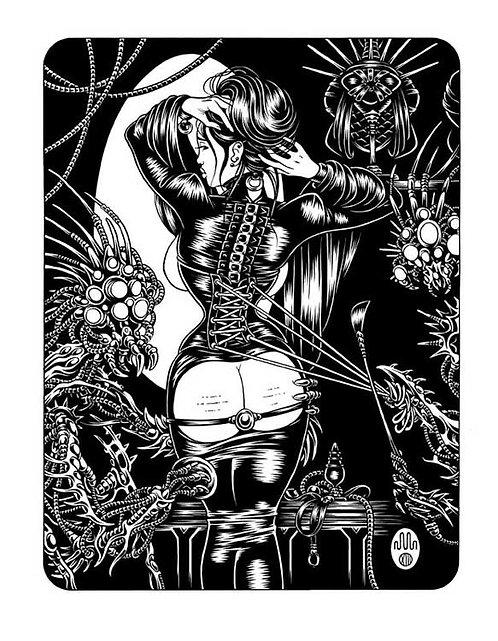 SASAYA: CONCUBINE 02 Limited Edition Print