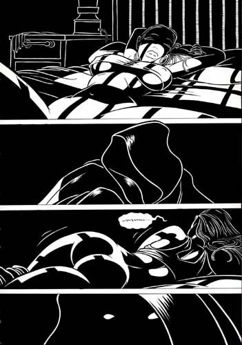 TRANCEPTOR 05 Original Comic Book Page