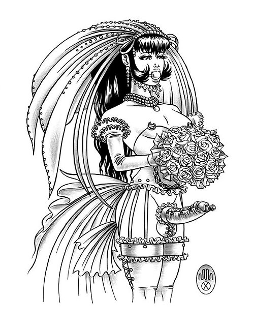 BRIDE 01 Limited Edition Print