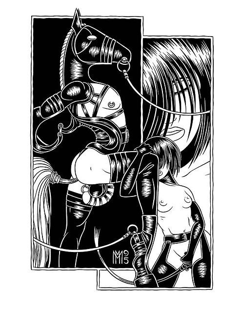 STALLION: LOCKED Limited Edition Print