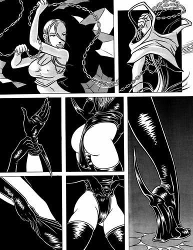 TRANCEPTOR 13 Original Comic Book Page