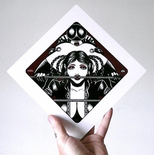 SASAYA & NATSU 01 Limited Edition Metal Print