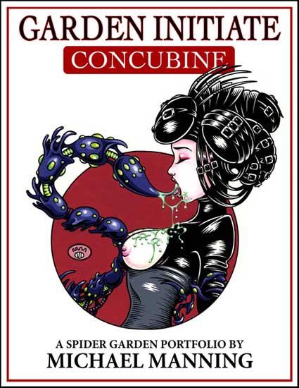 GARDEN INITIATE 02: CONCUBINE Portfolio