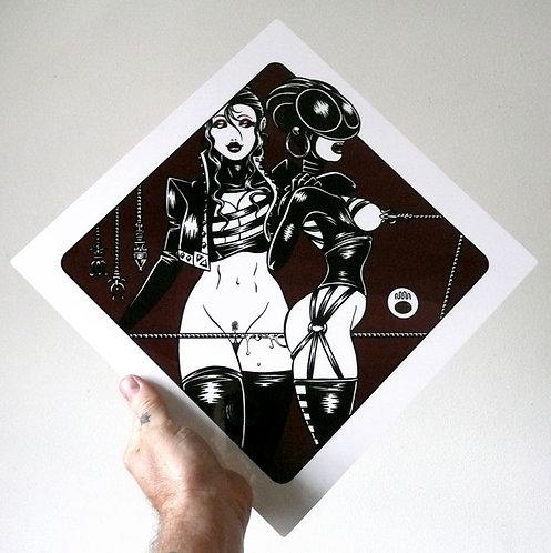SASAYA & NATSU 02 Limited Edition Metal Print