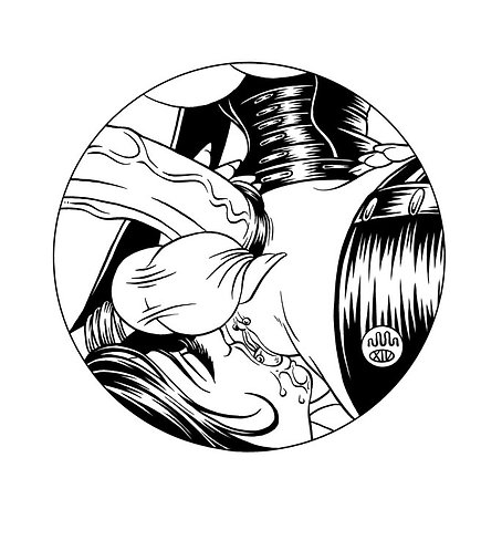 FUTANARI MISTRESS: LICKED 01 Original Artwork