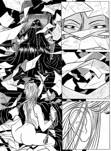 TRANCEPTOR 09 Original Comic Book Page