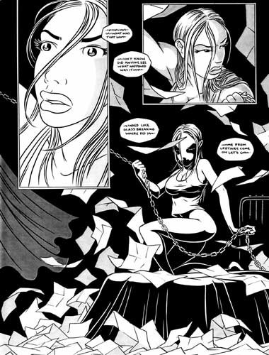 TRANCEPTOR 12 Original Comic Book Page