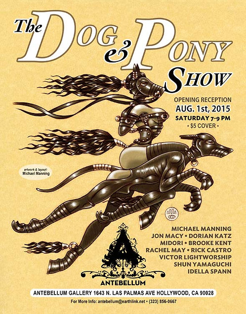 DOG & PONY SHOW Limited Edition Poster