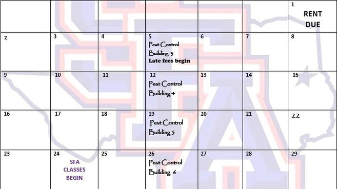 Our August 2020 Calendar and Cliffhanger!